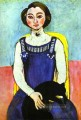 Girl with A Black Cat Modernismus Henri Matisse