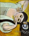 Laurette s Head with a Coffee Cup Modernismus Henri Matisse