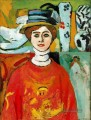 The Girl with Green Eyes 1908 Modernismus Henri Matisse