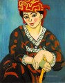 The Red Madras Headress Mme Matisse Madras Rouge Modernismus Henri Matisse