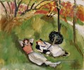 Two Figures Reclining in a Landscape 1921 Modernismus Henri Matisse
