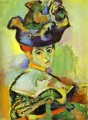 Woman with a Hat 1905 Modernismus Henri Matisse