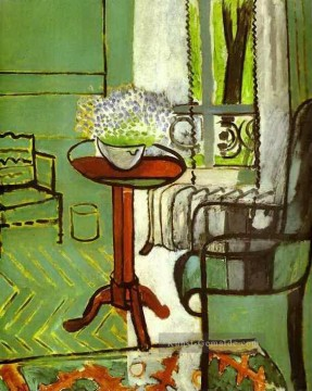 the annunciation 1785 Ölbilder verkaufen - The Window Interior with Forget Me Nots 1916 abstract fauvism Henri Matisse