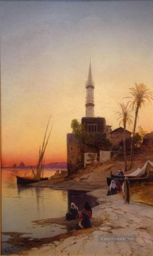 Hermann David Salomon Corrodi Werke - Kiosque Hermann David Salomon Corrodi orientalische Kulisse