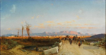 Hermann David Salomon Corrodi Werke - nicosia Hermann David Salomon Corrodi orientalische Kulisse