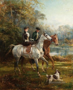 Hardy Galerie - The Morning Ride 2 Heywood Hardy Reiten
