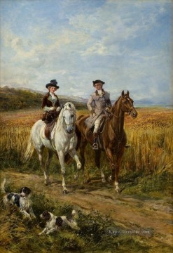Hardy Galerie - The Morning Ride 3 Heywood Hardy Reiten