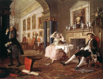 Marriage a la Mode2 William Hogarth
