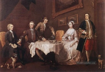 die Strode Familie William Hogarth Ölgemälde