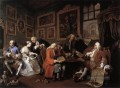 Marriage a la Mode William Hogarth