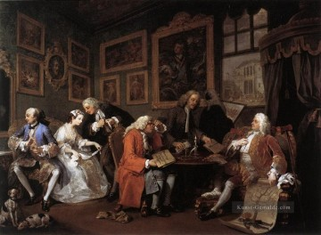 Marriage a la Mode William Hogarth Ölgemälde
