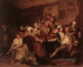 die Orgy William Hogarth