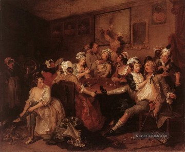 die Orgy William Hogarth Ölgemälde