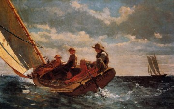 air Werke - Breezing Up aka A Fair Wind Realismus Marinemaler Winslow Homer