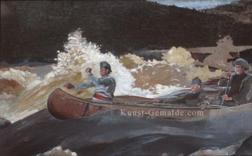 Shoot Kunst - Schießen die Rapids Realismus Marinemaler Winslow Homer