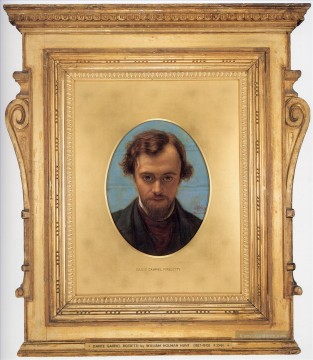 Hunt Ölbilder - Dante Gabriel Rossetti britischen William Holman Hunt