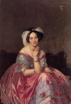 James Ölgemälde - Baronne James de Rothschild neoklassizistisch Jean Auguste Dominique Ingres