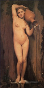La Source Nacktheit Jean Auguste Dominique Ingres Ölgemälde
