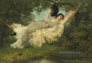 Jan van Beers Werke - In The Hammock Jan van Beers Parisienne