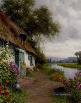 Cottage Galerie - A Riverside Cottage Louis Aston Knight
