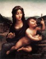 Madonna with the Yarnwinder 1501 Leonardo da Vinci
