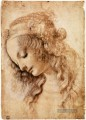 Womans Head Leonardo da Vinci
