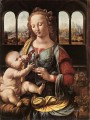 The Madonna of the Carnation Leonardo da Vinci
