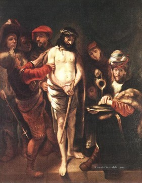 Christ before Pilate Barock Nicolaes Maes Ölgemälde