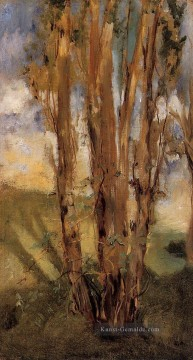 Édouard Manet Werke - Study of trees Eduard Manet