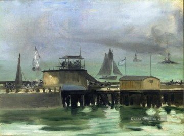 Édouard Manet Werke - The Jetty at Boulogne Eduard Manet