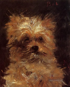 Édouard Manet Werke - Head of a hund Eduard Manet