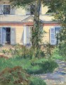The House at Rueil Realismus Impressionismus Edouard Manet