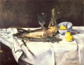 The Salmon Stillleben Impressionismus Edouard Manet