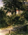 A Corner of the Garden in Rueil Eduard Manet