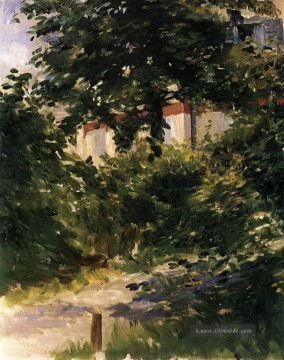 Édouard Manet Werke - A Corner of the Garden in Rueil Eduard Manet