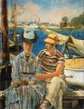 Argenteuil Realismus Impressionismus Edouard Manet