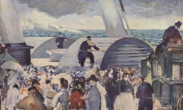 Édouard Manet Werke - Embarkation after Folkestone Eduard Manet