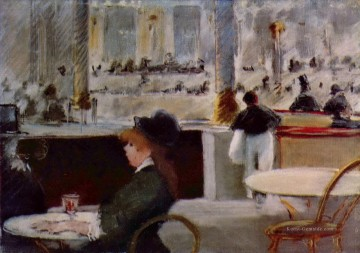 Édouard Manet Werke - Interior of a Cafe Eduard Manet