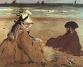 On The Strand Realismus Impressionismus Edouard Manet