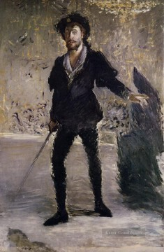 Édouard Manet Werke - Porträt of Faure as Hamlet Eduard Manet