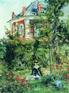 Édouard Manet Werke - The Garden at Bellevue Eduard Manet