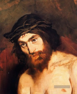 Édouard Manet Werke - The head of Christ Eduard Manet