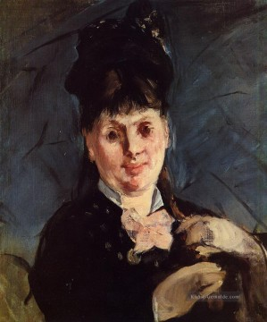 Édouard Manet Werke - Woman with umbrella Eduard Manet