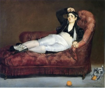 Édouard Manet Werke - Young Woman Reclining in Spanish Costume Eduard Manet