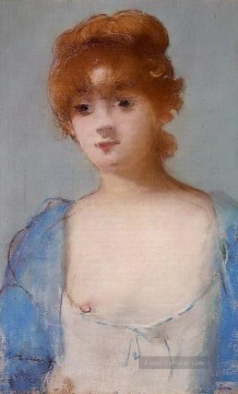 Édouard Manet Werke - young woman in a negligee Eduard Manet
