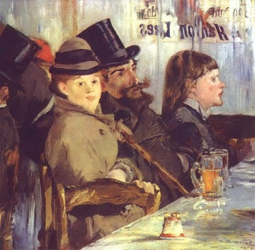 Édouard Manet Werke - At the Cafe Eduard Manet