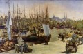 The Port of Bordeaux Eduard Manet