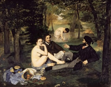 Édouard Manet Werke - The Luncheon on the Grass Eduard Manet