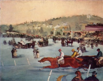 Édouard Manet Werke - The Races in the Bois de Boulogne Eduard Manet