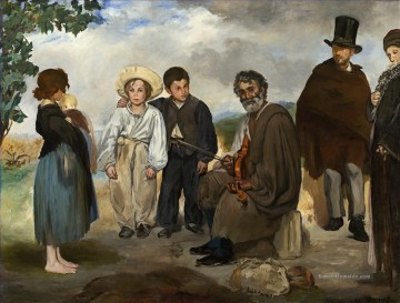 Édouard Manet Werke - The old musician Eduard Manet
